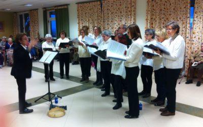 Actuación de coro